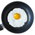 fried egg with Pam olive oil