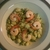 Quinoa Salad and Shrimp with Lime Ginger Dressing